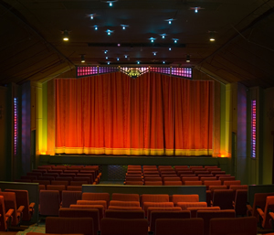 Inside- experience the art-deco ambience of the Narooma Kinema