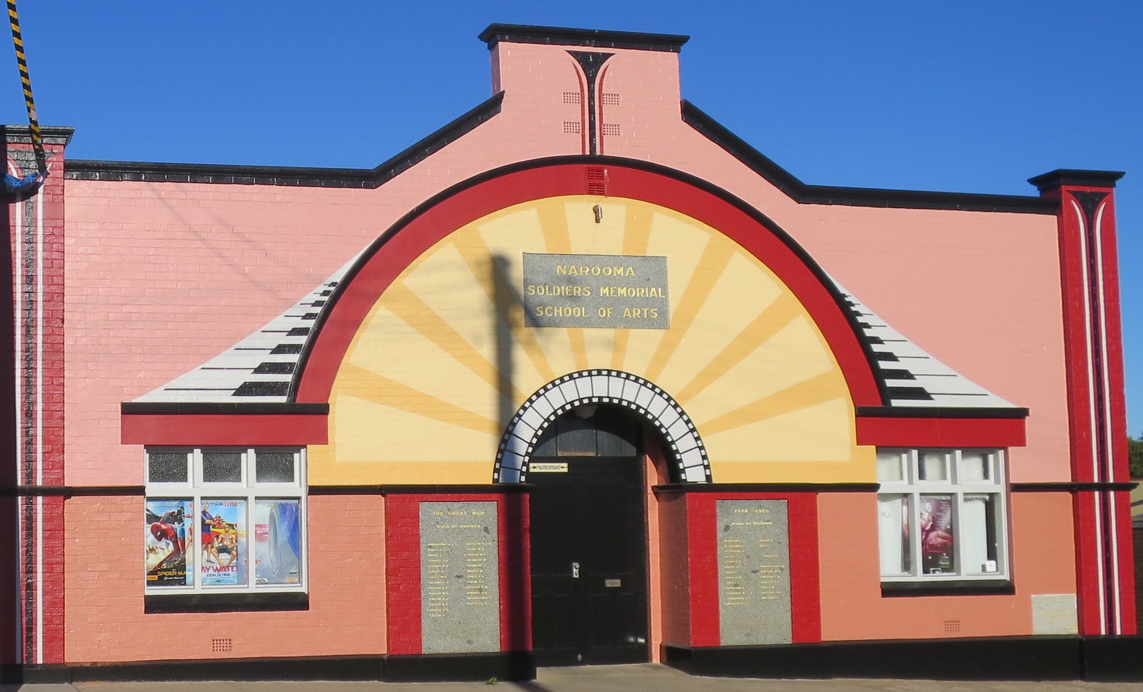 Narooma School of Arts & Soldiers War Memorial Hall Inc